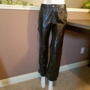 Vintage Genuine Leather Gap Bootcut Pants
